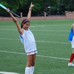 Field Hockey Drills - Celebrating