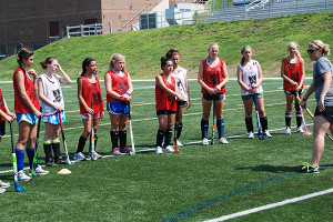 Field Hockey Coaching - Explaining Drills Lawrenceville School