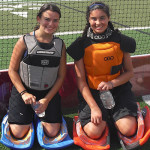 Field Hockey Camps - Goalie Smiling
