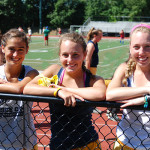 Field Hockey Camps - Campers Smiling Montclair State University