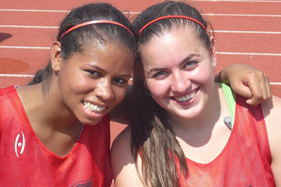 Field Hockey Camps - Camper Smiling