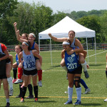 Field Hockey Camps - Camp Fun Piggy Back Races