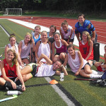 Field Hockey Camps - Campers Smiling