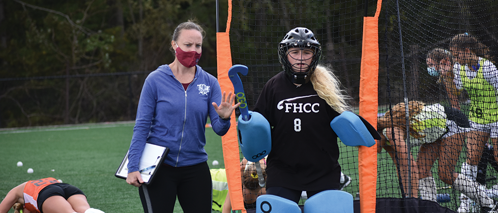 Coach-and-goalie