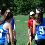 Field Hockey Camps - Coaching a Group