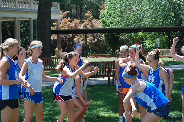 Build Team Spirit at Revolution Field Hockey Camps