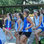 Field Hockey Camps - Campers Dancing Revolution Rise