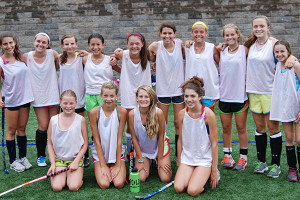 Field Hockey Camps - Campers Smiling San Diego State University