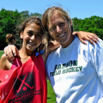 Field Hockey Coaches - Julie Ryan with Camper