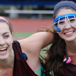 Field Hockey Camps - Campers Smiling Together